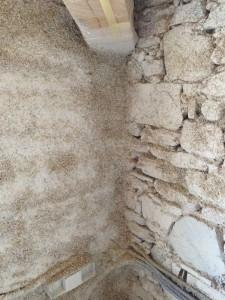 Muri isolati con calce-canapa