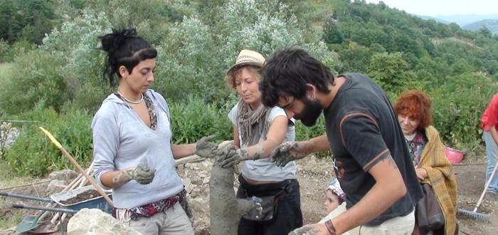 Costruiamo la fontana in argilla