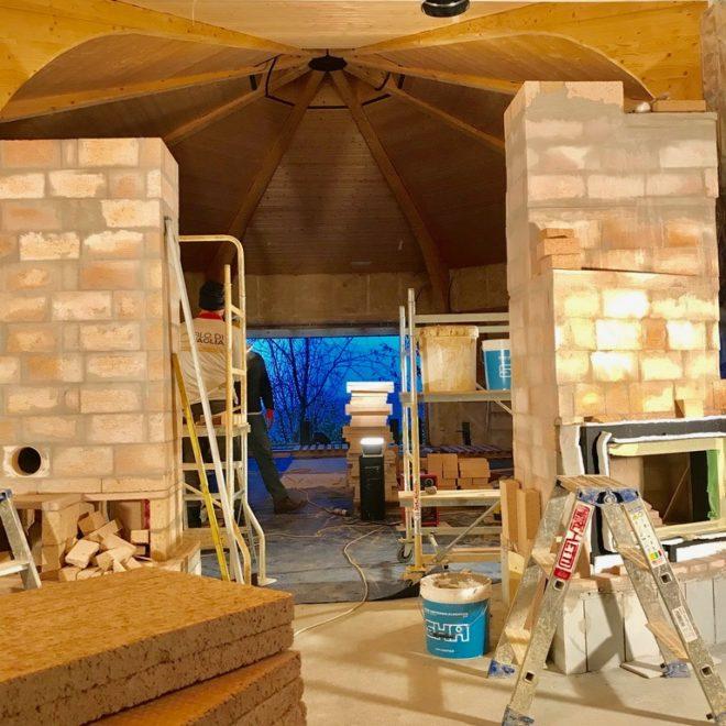 stube-ottagono-costruzione